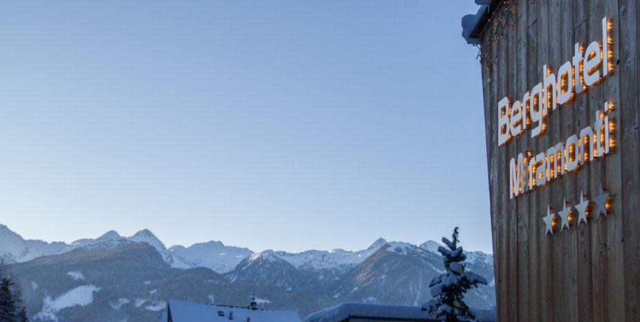 Berghotel - esterno inverno
