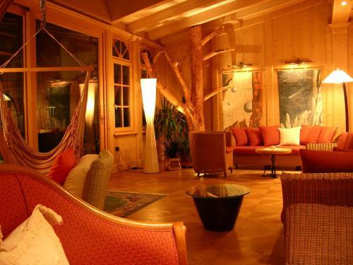 Berghotel - sala lettura
